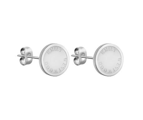 Σκουλαρίκια Emily Westwood Silver