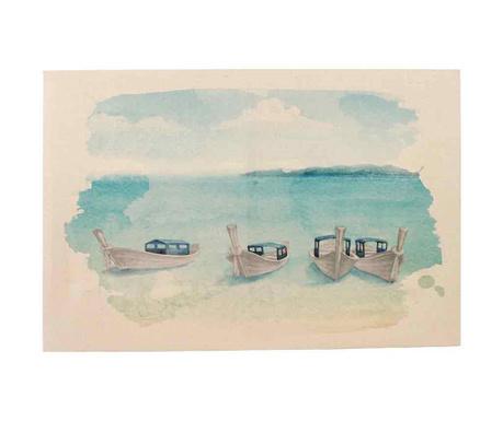 Slika Boats 100x150 cm