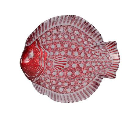 Dekorativni servirni krožnik Fish