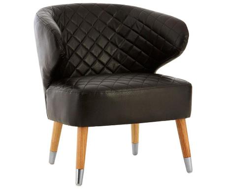 Židle Wingback Black