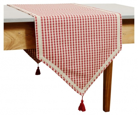 Bieżnik stołowy Carreau Red Line 45x150 cm