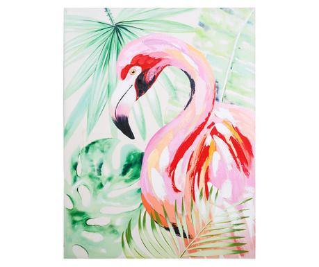 Tablou Flamingo 90x120 cm