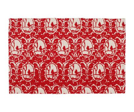 Chodniczek Mesange Red 50x80 cm