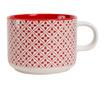 Set ceainic si ceasca Lison Red