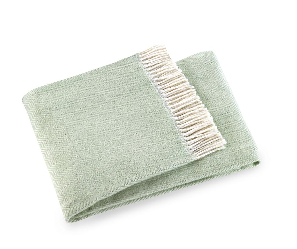 Skyline Mint Green Pléd 140x180 cm