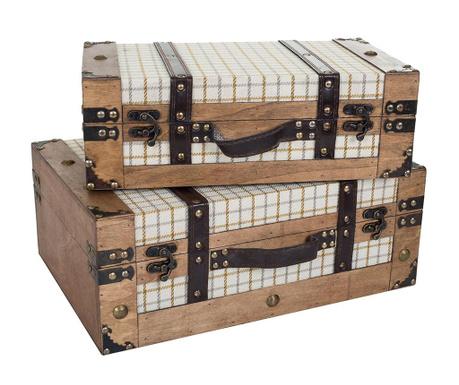 Комплект 2 декоративни куфара Josie