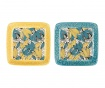 Set 2 farfurioare Florry Yellow Blue