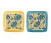 Set 2 tanjurića Florry Yellow Blue