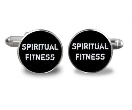 Butoni camasa Spiritual Fitness