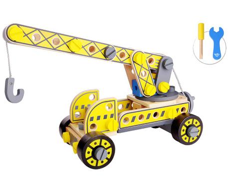 Dizalica igračka s prikolicom DIY Casider