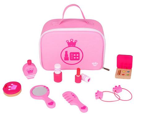 Kozmetička torbica i pribor za igranje Pink Make-up