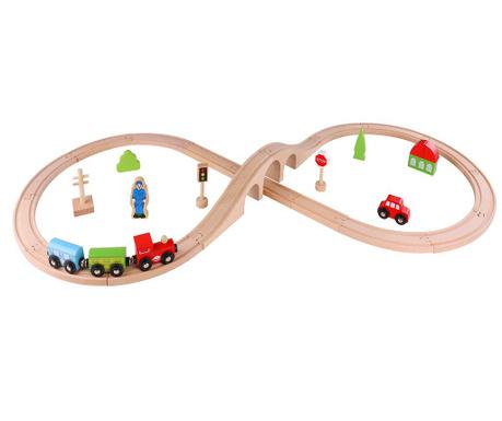 Set za građenje  30 dijelova Train