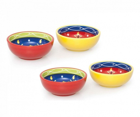 Set 4 boluri Tex Mex