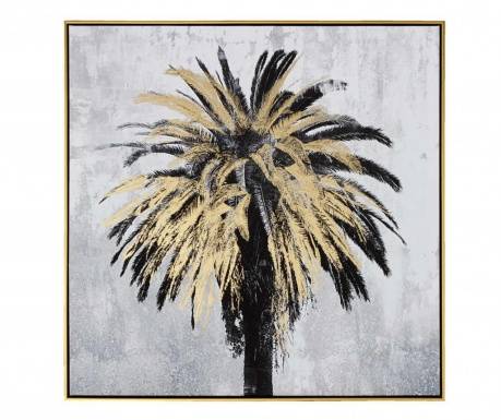 Palm Myro Black Gold Kép 80x80 cm