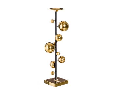 Duccio Gold Black Gyertyatartó