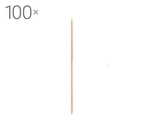 Set 100 štapića za roštilj Bamboo