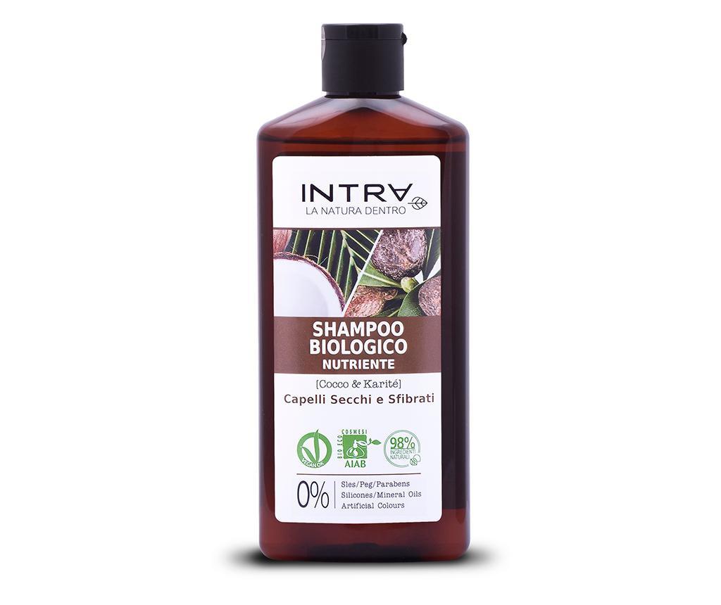 Organski šampon za suhu kosu Nourishing Coconut&Shea Butter 250 ml