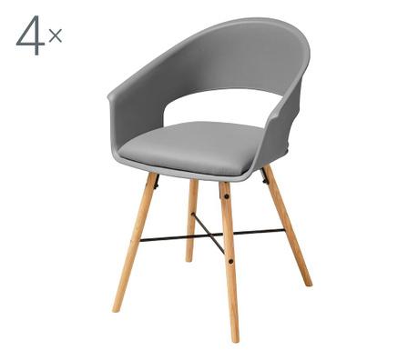 Set 4 stolice Ivar Grey