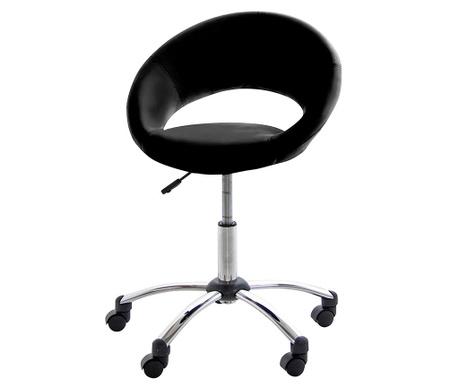Uredska stolica Plump Black White