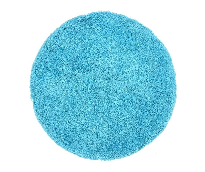 Covor My Carnival Turquoise Round 80 cm