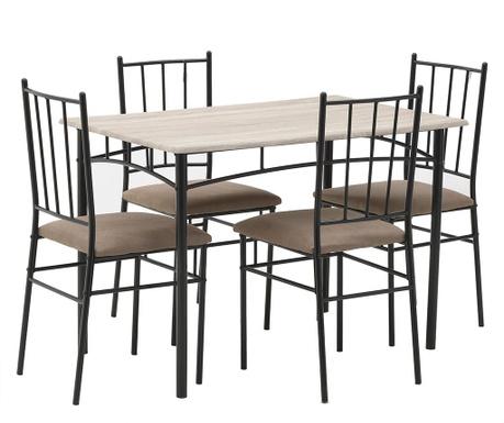 Set mize in 4 stolov Dinesse