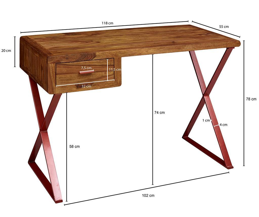Pracovný stôl Marina