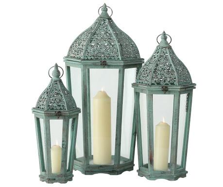 Set 3 lantern Benedikt