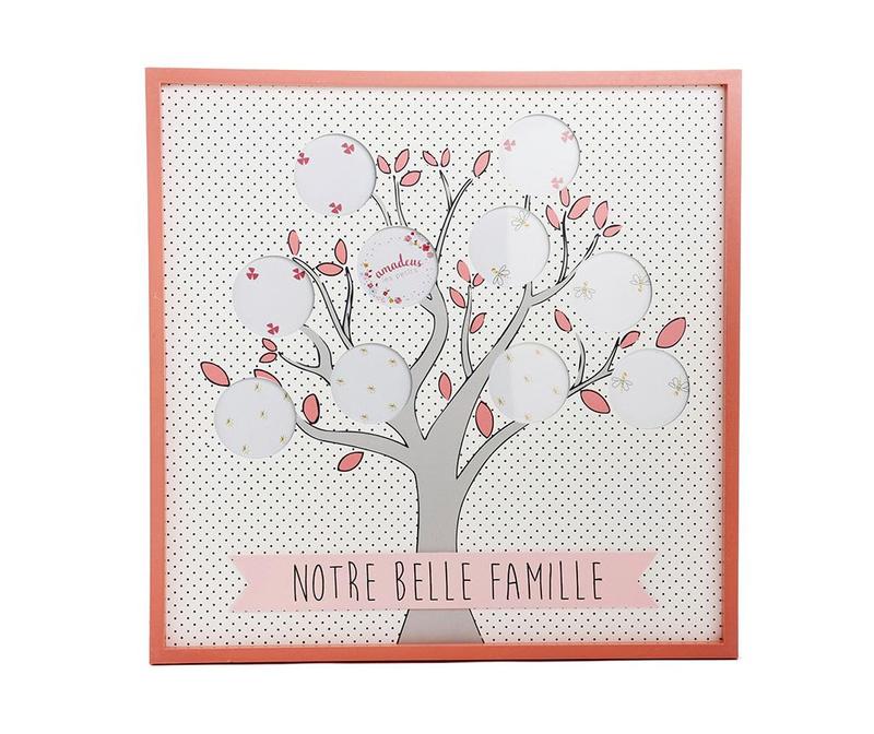 Rama 10 fotografii Belle Famille Dots Pink