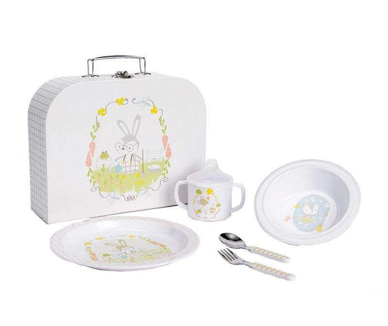 Rabbit 5 darabos Étkészlet gyerekeknek