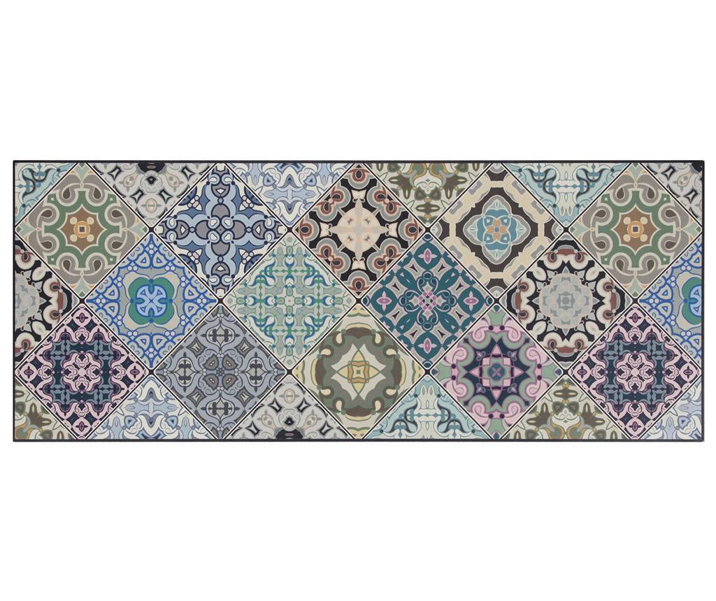 Vista Morocoo Blue Linóleum 50x120 cm