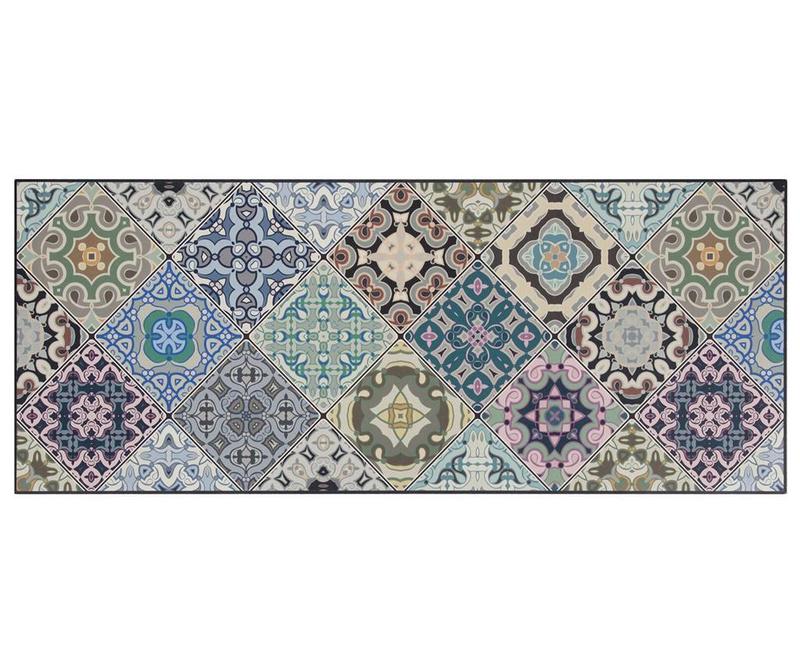 Linolej Vista Morocoo Blue 50x120 cm