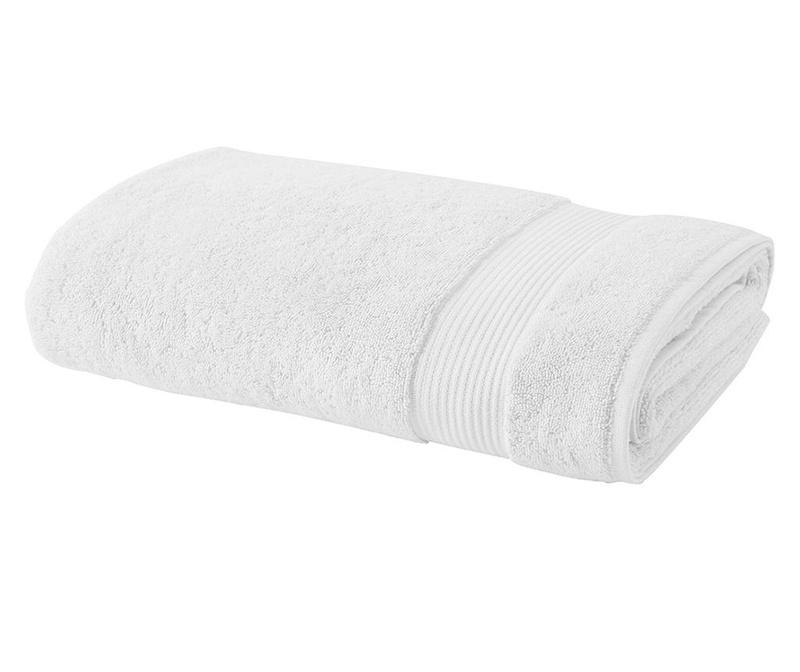 Prosop de baie Basic White 30x50 cm