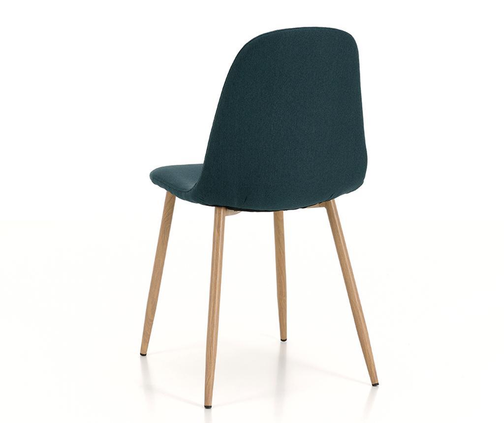 Set 4 stolov Damasco Dark Green