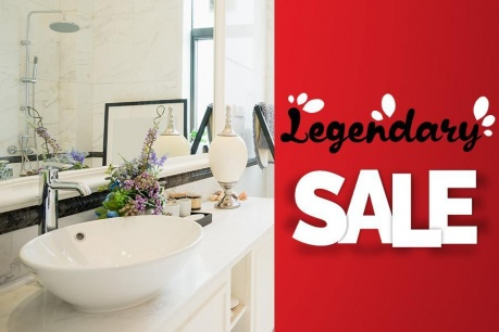 Legendary Sale: Полезни в банята