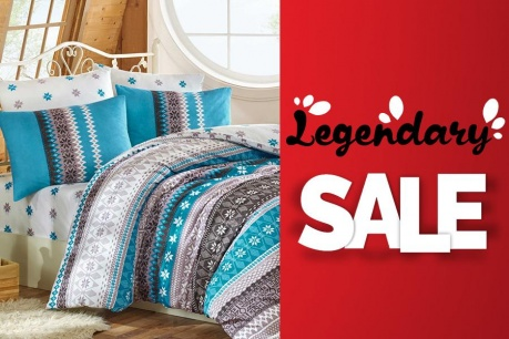 Legendary Sale: Текстил за дома