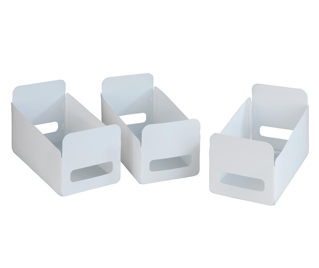 Set 3 kutije za spremanje Neslon