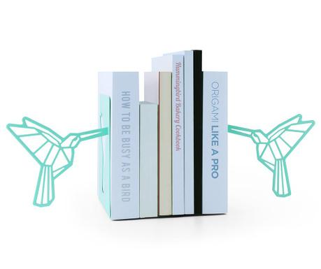 Sada 2 knižných zarážok Origami