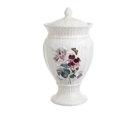 Naczynie dekoracyjne z pokrywką Flower