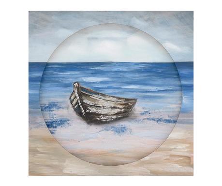 Obraz Boat 80x80 cm