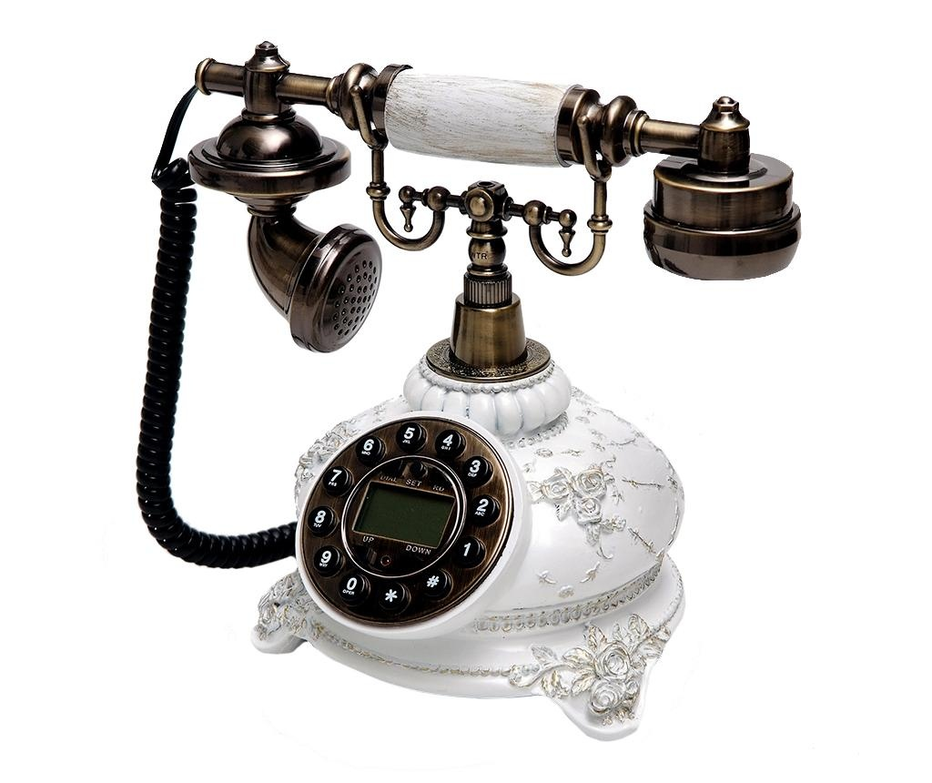 Stacionarni telefon Flora White