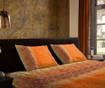 Claudia Orange Egyszemélyes Szatén ágynemű