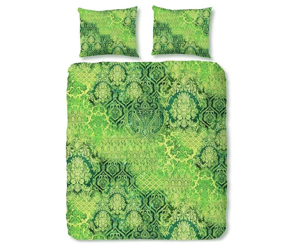 Posteljnina King Sateen Veronique Green