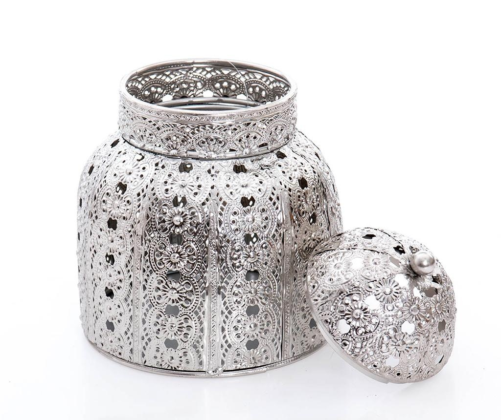 Dekoračná nádoba s vekom Badi Round