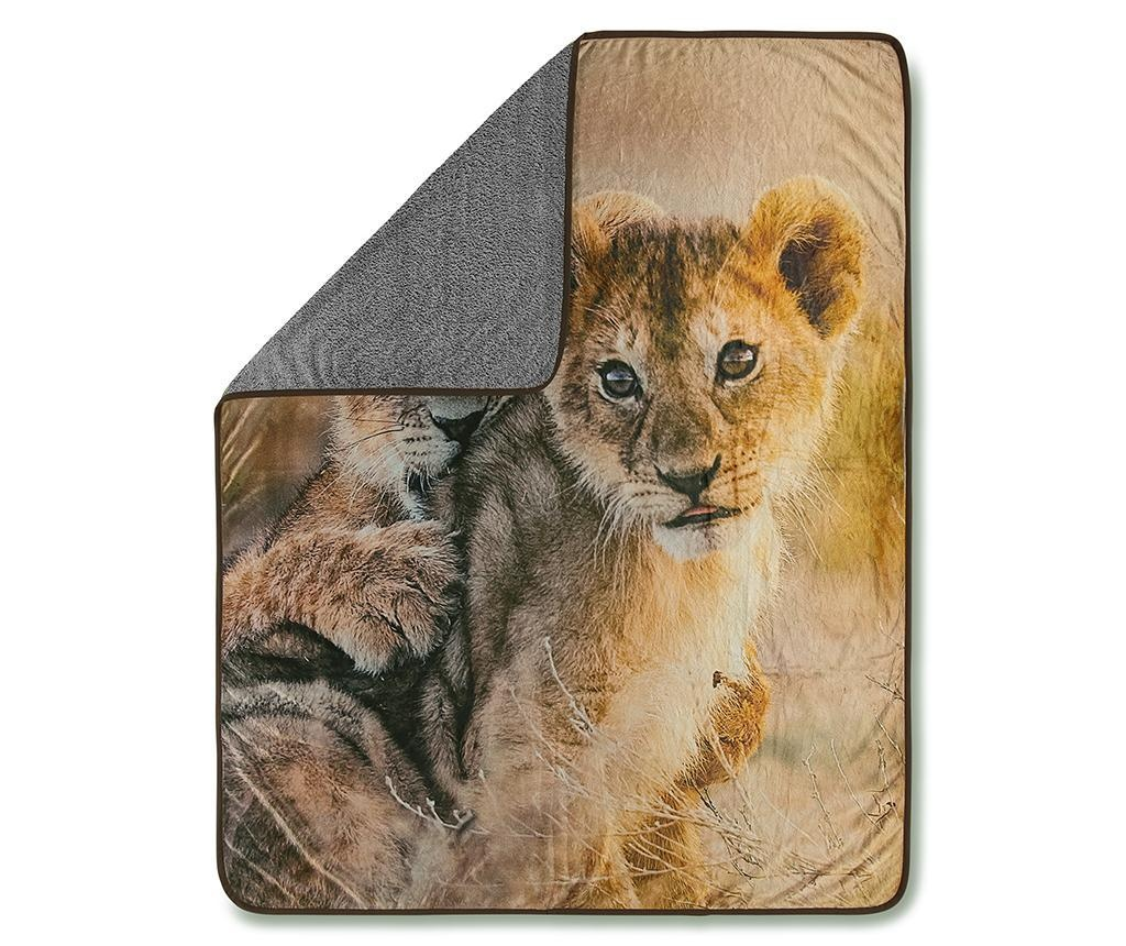 Pled Baby Lion 130x160 cm