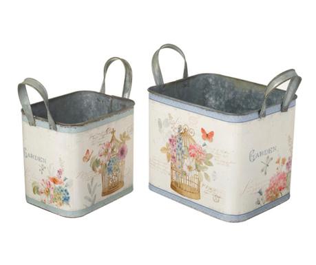 Set 2 cutii decorative Spring Garden