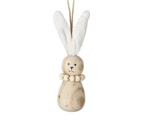 Decoratiune Wooden Bunny