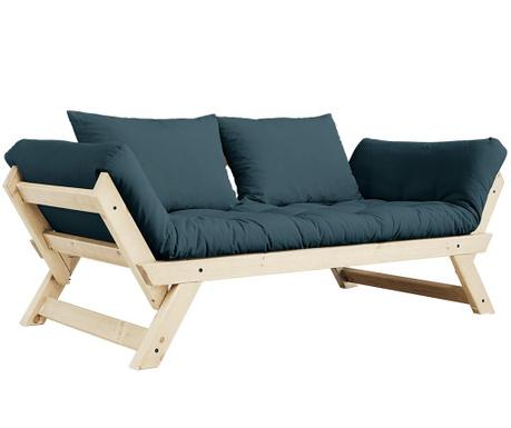 Sofa extensibila Bebop Natural & Petrol Blue