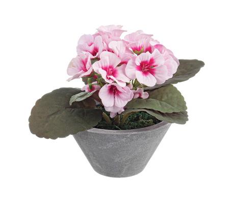Umjetni cvijet u posudi Violet