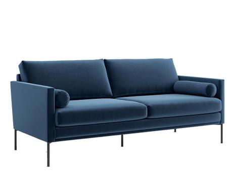 Blanca Monolith Blue Háromszemélyes kanapé