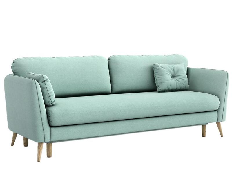 Canapea extensibila 3 locuri Clara Melva Blue